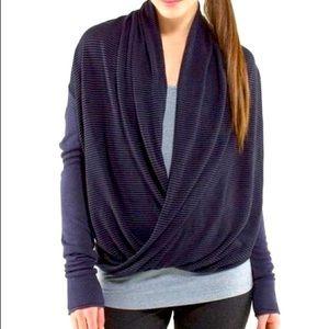Lululemon Iconic Sweater wrap - cadet blue purple